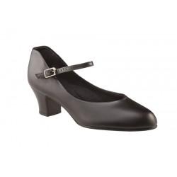 Chaussure de caractère en cuir 5,5 -Capézio