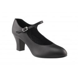 Chaussures de  caractère en cuir