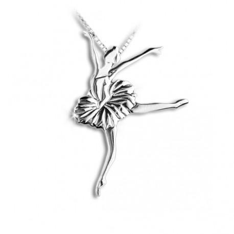 """Pendentif danseuse classique Lac des Cygnes   """" Mikelart """""""